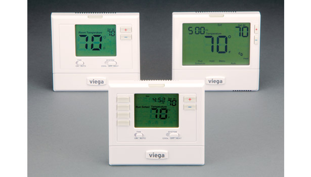 Viega LLC showcased its radiant control product for hydronic and HVAC applications that allows for easy installation and system integration.