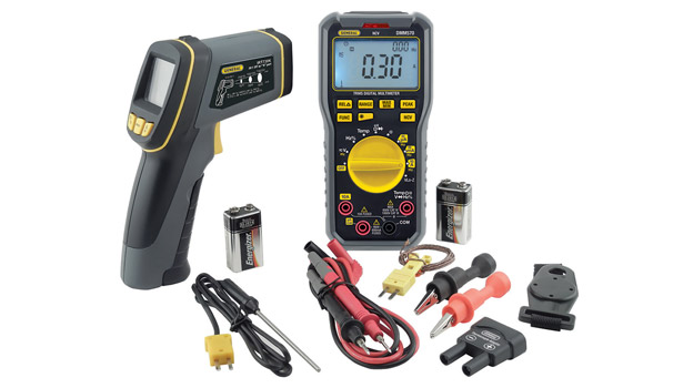 General Tools & Instruments exhibited several new products, including its PalmScopeâ?¢ video inspection system.