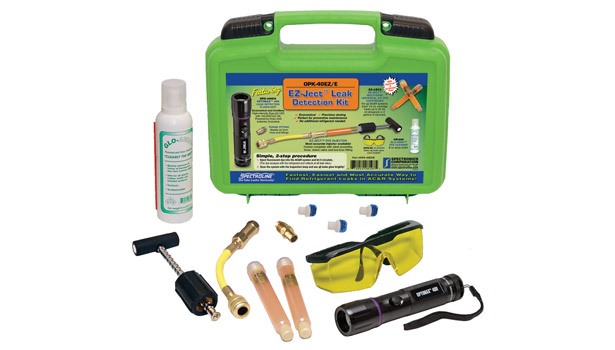 Spectronics Corp. introduced its OPK-40EZ/E EZ-Jectâ?¢ leak-detection kit.