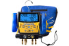 Fieldpiece Instrumentâ??s wireless digital manifold, the SMAN4, has four ports and a built-in vacuum gauge.