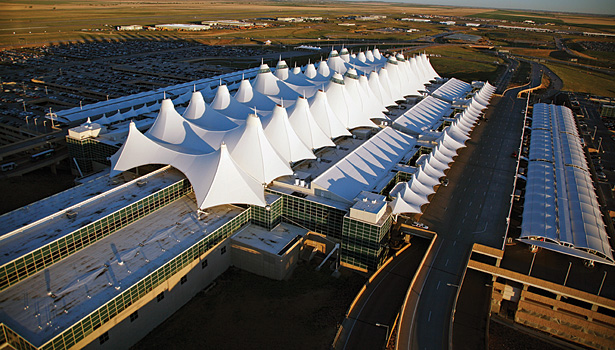 More than 53 million passengers travel through the Denver International Airport (DIA) annually. (Photo courtesy of the Denver International Airport)