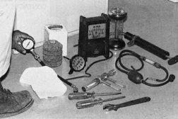 Oil burner test kit
