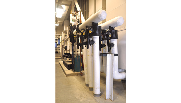 Balancing the loads can allow a significant reduction in the cost of the geothermal heat exchanger, at the same time ensuring the system will operate efficiently over the long term without temperature degradation.