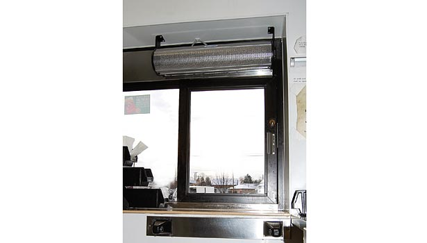 The foodservice and restaurant industries are using the new drive-thru window air curtains, which are being used for a variety of purposes.
