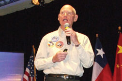 Former astronaut Mike Mullane encouraged best practices in his keynote address at the opening of the IIAR Conference.