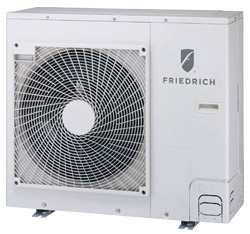 Friedrich Air Conditioning Co.: Ductless Split Systems