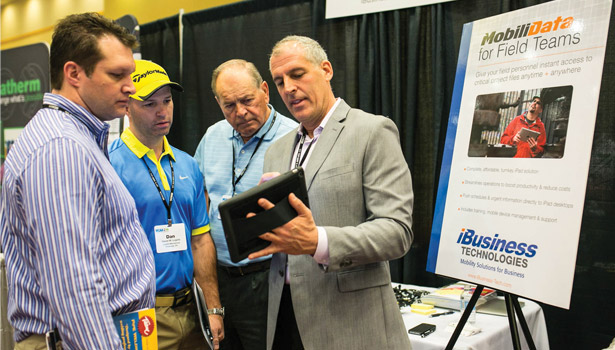 Technology products gathered interest at the MCAA conference.