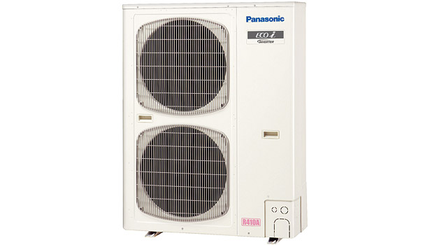 The Panasonic ECOi EX Series VRF heat pumps offer a two-way conditioning solution for large-capacity jobs.