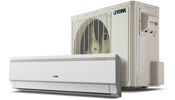 These York units are compact and deliver cooling or heating to structures without installing air handlers and ductwork.
