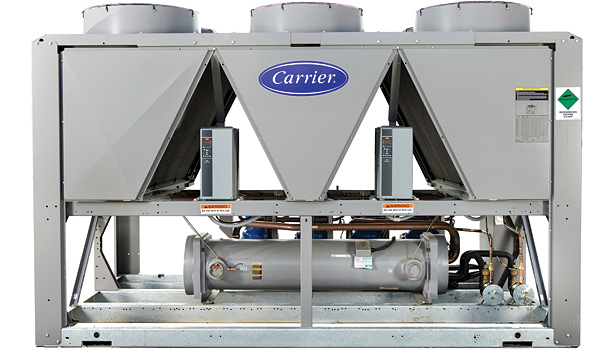Carrier  30RB with Greenspeed intelligence air-cooled package chiller