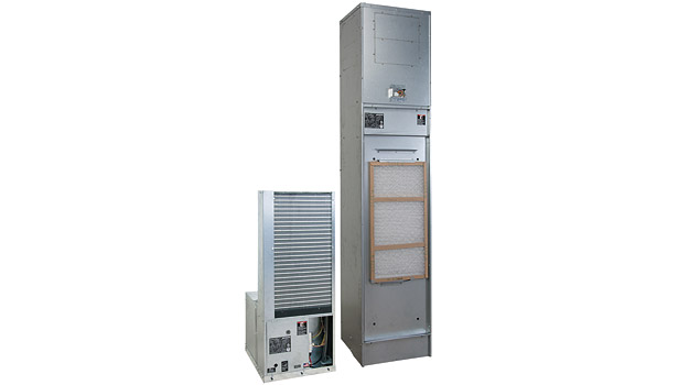 ClimateMaster Tranquility Vertical Stack (TSM) Series water-source heat pump/geothermal heat pump