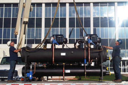 The General Services Administration installed a new variable-speed maglev chiller in the George Howard Jr. Federal Building and U.S. Courthouse in Pine Bluff, Arkansas.