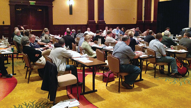 Around 175 contractors attended the QSC Power Meeting XL. The next Power Meeting will be held in September in Nashville, Tennessee.
