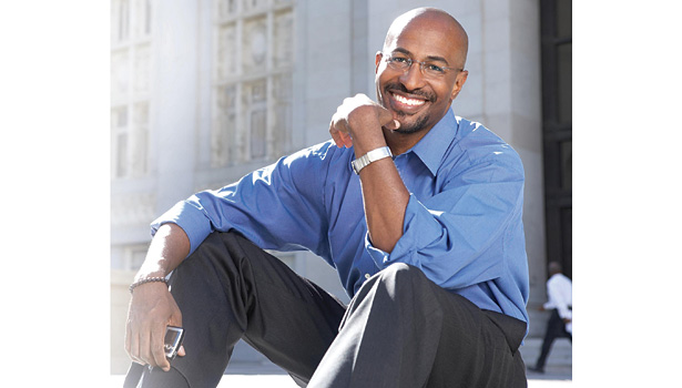 In his keynote speech, Van Jones asserted, â??One dollar for energy efficiency works harder than any other dollar.â??