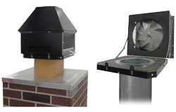 Tjernlund Products Inc.: Rooftop Chimney Fan