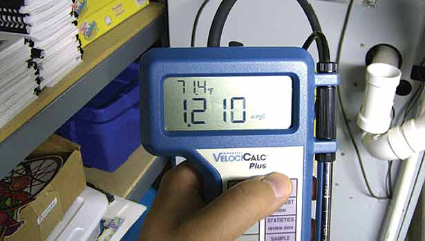 If you found this total external static pressure reading while testing, would you recommend sealing the duct system?