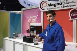 A Taylor work station for blended beverages offers ice creation, storage, and many other beverage service features.