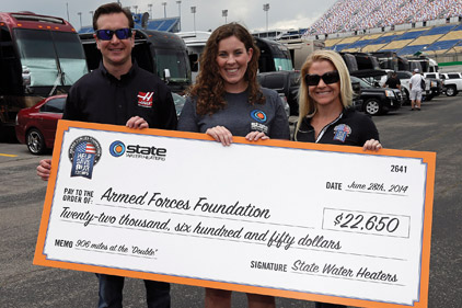 Armed Forces Foundation >> State Water Heaters Funds Foundation 2014 07 21 Achrnews