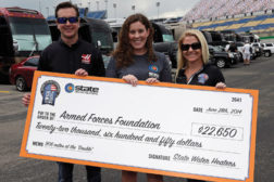 State Water Heater Donates to Armed Forces Foundation