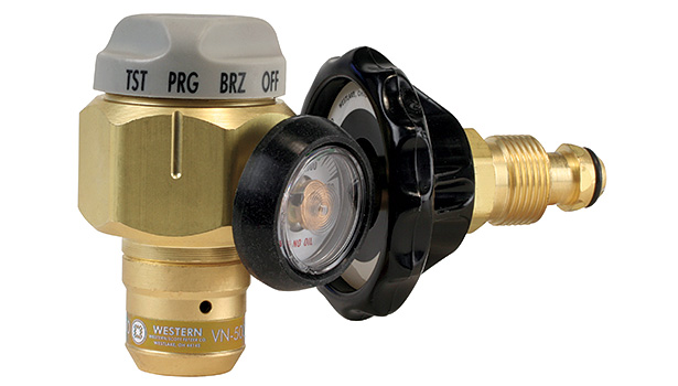 Gold Winner: Western Enterprises, a Scott Fetzer Company Nitrogen Purging/Brazing/ Testing Regulator