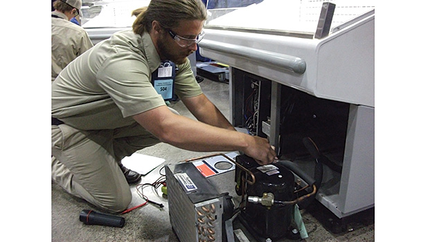Refrigeration equipment servicing gets its just due at the SkillsUSA National Championship.