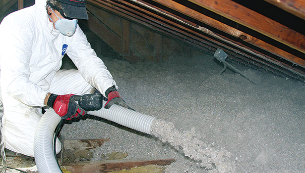 Contractors should educate customers about retrofits that can truly make a difference in their energy bills, such as adding attic insulation. (Photo courtesy of Dr. Energy Saver)