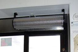 The food service and restaurant industries are using drive-thru-window air curtains to minimize both flying insect and outdoor air infiltration.