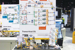 Components continue to come to market for transcritical CO2 systems.