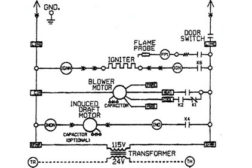 furnace schematic diagram