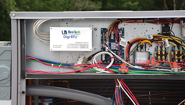 Digi-RTU is designed to improve the energy efficiency and demand requirements of a rooftop unit, as well as solve humidity and noise problems.