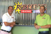 Russellâ??s Heating & Cooling, Chesapeake, Virginia, has doubled in size during the last three to four years under the leadership of Marc Sawyer (left), general manager, and Buddy Smith (right), owner.