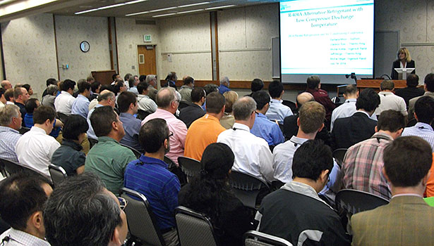 It's a full house when the topic is refrigerants at Purdue University's 15th International Refrigeration and Air Conditioning Conference.