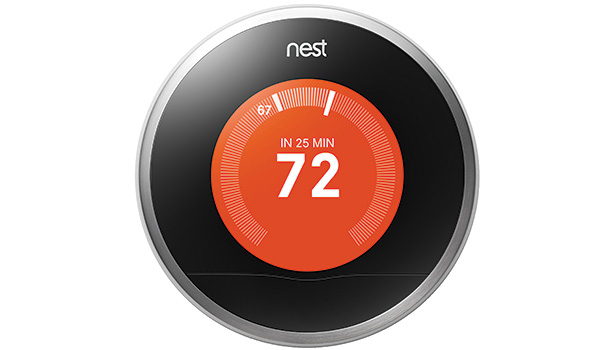The Nest Learning Thermostat programs itself based on a userâ??s schedule.