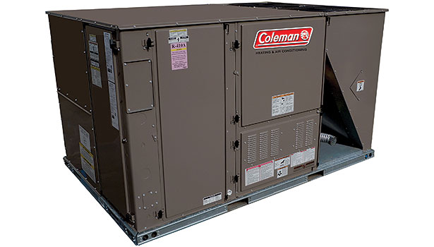 Coleman model Outfitterâ?¢ ultra-high-efficiency package unit