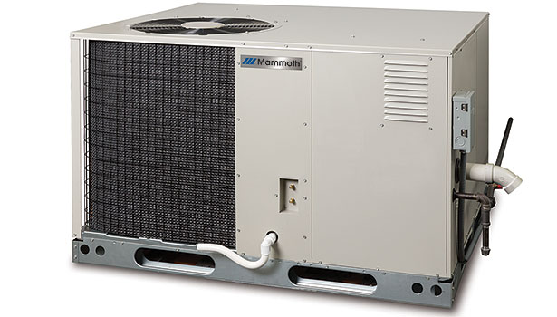 Mammoth model R8HE three-phase package gas-electric unit