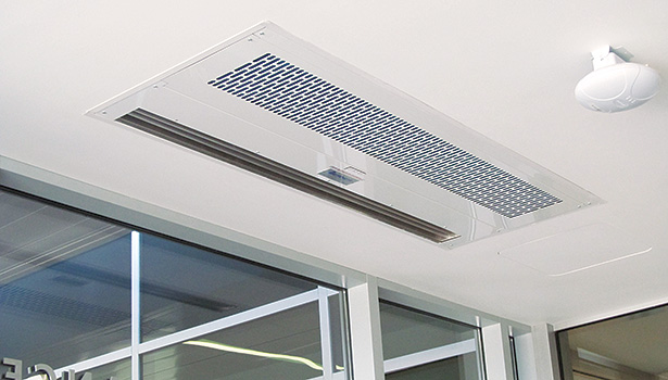 The University of Pittsburgh Medical Center installed 11 air curtains from Berner Intl., which protect all entrances from outdoor air infiltration.