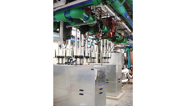 Geothermal systems make sense for hospitals as they offer impressive energy savings and increased levels of comfort. (Photo courtesy of Hydro-Temp)