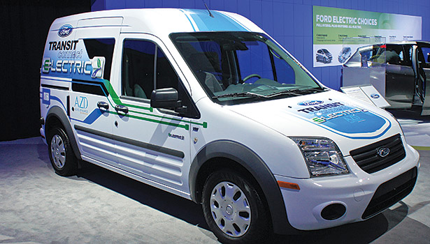 The Ford Transit Connect is becoming a popular option for HVAC contractors because of its reduced carbon footprint and high fuel efficiency.