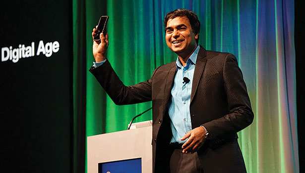 Keynote speaker Gopi Kallayil, chief branding evangelist at Google, described the intimate relationship consumers have with their mobile devices.