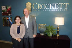Husband-and-wife team Mark Crockett and Cindy Esparza Crockett built Crockett Facilities Services Inc., located in Bowie, Maryland, from the ground up.