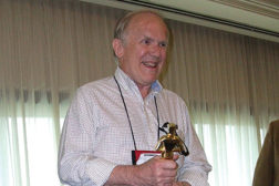 Tom Schaefer, president, Empire Keystone State Association, was honored as the RSES Member of the Year.