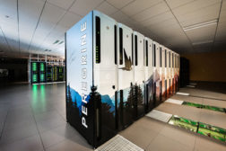 Peregrine, the state-of-the-art liquid-cooled supercomputer at NREL, provides sufficient heat to meet the needs of the 182,500-square-foot ESIF.