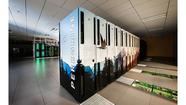 Peregrine, the state-of-the-art liquid-cooled supercomputer at NREL, provides sufficient heat to meet the needs of the 182,500-square-foot ESIF, and combined with an energy-efficient data center is saving NREL about $1 million a year in energy costs.