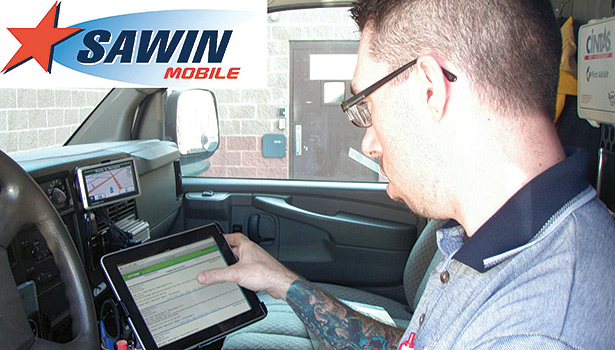 When Conditioned Air transitioned to a mobile solution, the Sawin software system was thoroughly tested internally before being rolled out to those in the field.