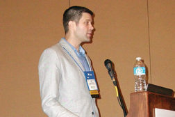 Tim Anderson principal engineer, Hussmann Corp., suggested various types of equipment that will work with newer refrigerants at the 2014 Food Marketing Institute Energy & Store Development Conference.