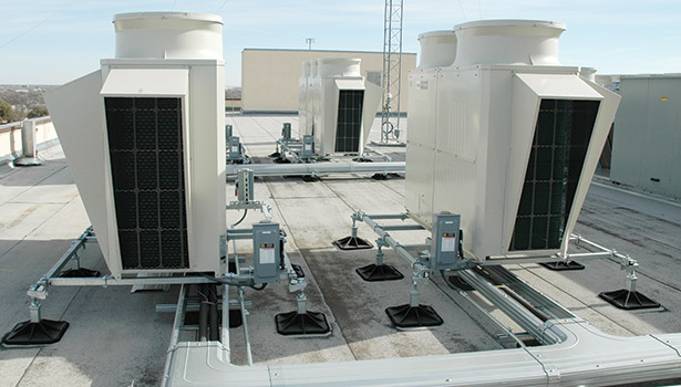 Vrf Retrofit Provides Texas Bank With Protection