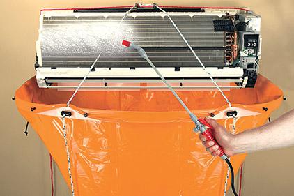 rectorseal mini split evaporator cleaning kit 2015 01 26 achrnews. Black Bedroom Furniture Sets. Home Design Ideas