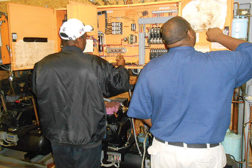 The SSRT is still relatively new and even the instructors are still learning the best placement for all equipment and training areas within the Fayetteville, Georgia, facility.
