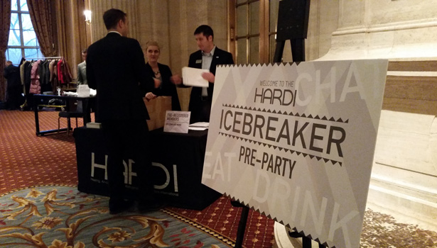 HARDI held its Icebreaker pre-party event Sunday at the Hilton Chicago.