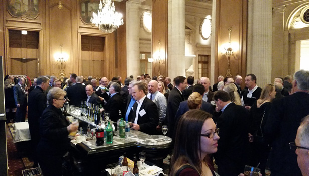 The event featured food, drinks, and ample opportunities for members to network.